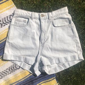American Apparel High Waist Denim